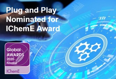 Plug and Play Interface Standard shortlisted in Process Automation and Digitalisation IChemE Global Awards Category