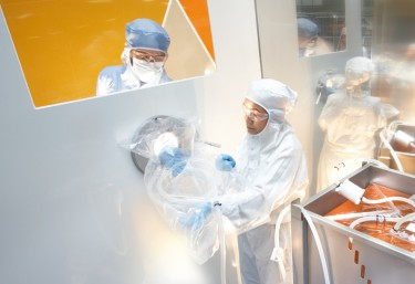 Manufacturing standard disposables in a cleanroom environment