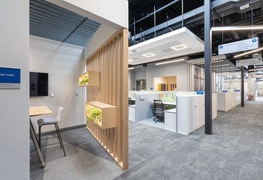 Boston Scientific Office expansion - Collaboration spaces