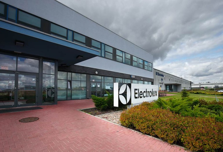 Electrolux appliance manufacturing facility poland
