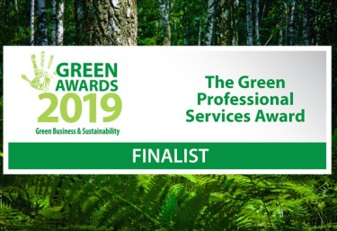 Shortlisted in the Green Awards 2019