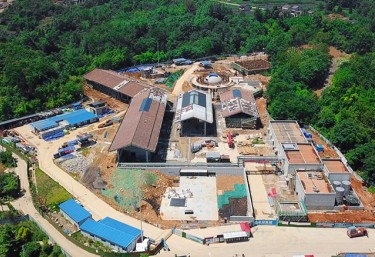 Whisky distillery design construction China
