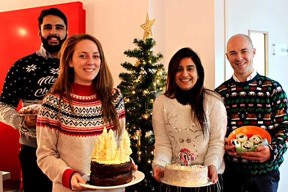 Christmas Cake Sale for the Honey Pot Charity