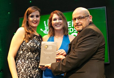 Green Awards Win